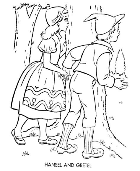 Hansel And Gretel Coloring Pages Coloring Home Hansel And Gretel Coloring Page