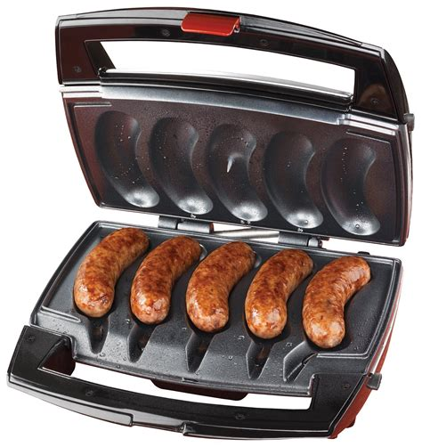 brats grill johnsonville sausage grill review electric grill reviews