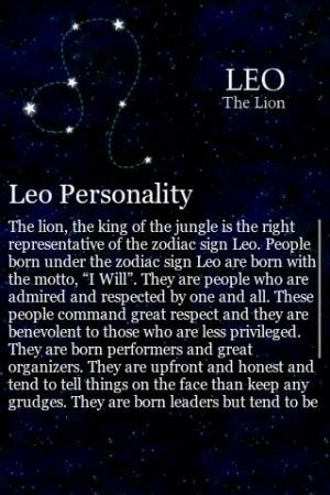 quotes about leo personalitys quotesgram