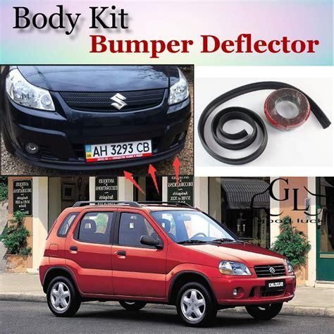 List Bumper Depan Suzuki Ignis Embos aliexpress buy bumper lip deflector for suzuki