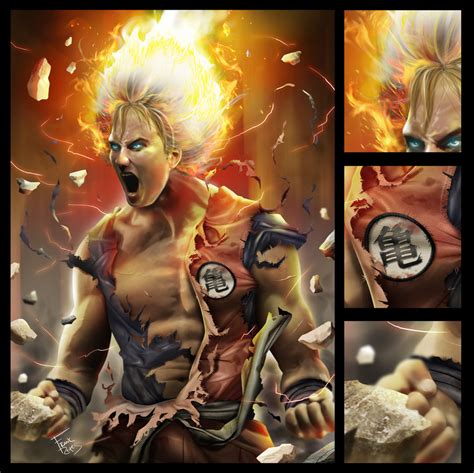 Imagenes Goku Reales | personajes de dragon ball z reales full hd te sorprenderas
