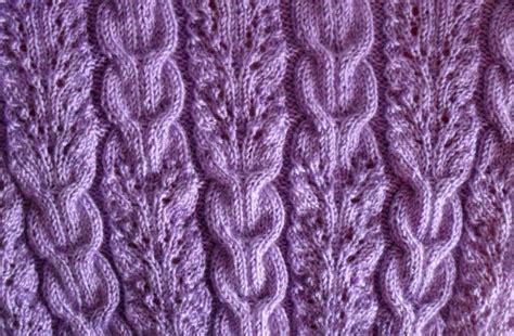 how to knit braid lace and braids ribbed knitting stitch knitting kingdom