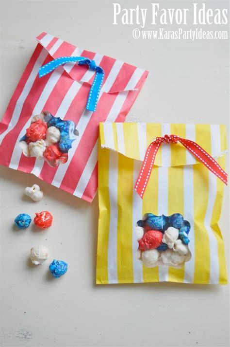 How To Make Paper Goody Bags - kara s ideas diy window favor bags tutorial ideas
