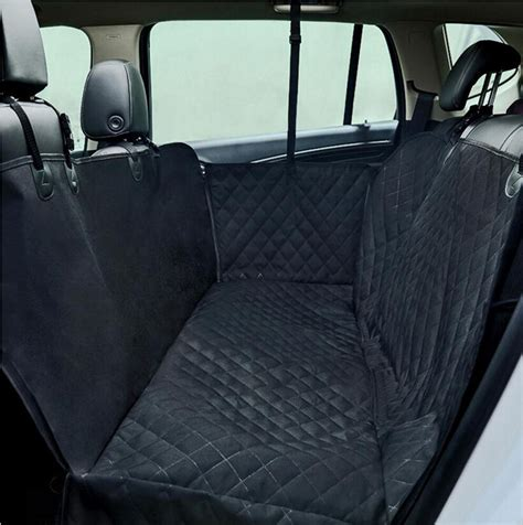 Pet Travel Hammock Seat Cover by Large Waterproof Car Rear Seat Cover Pet Cat Safe