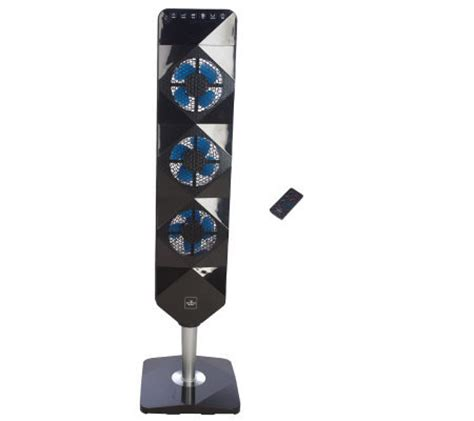 sharper image tower fan sharper image ultra thin flat panel tower fan v30295