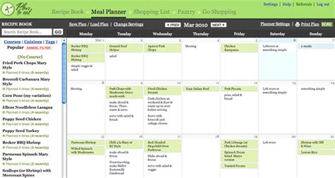 online planner free plan to eat online meal planning giveaway 2 winners