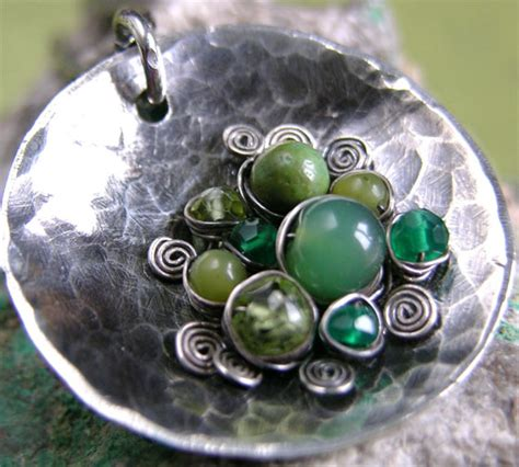 Handmade Jewelry Artists - wire jewelry by mel try handmade