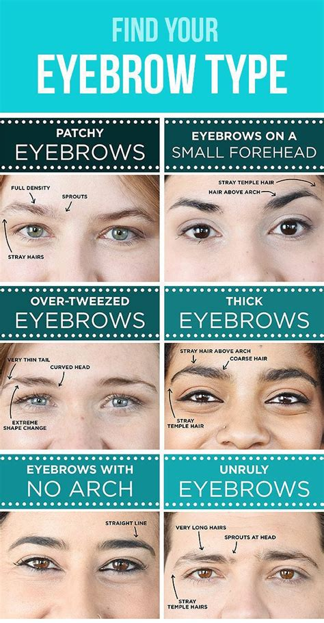 How To Trim You Eyebrows With Clippers Wiki With Pictures | find out your eyebrow type makeup mania