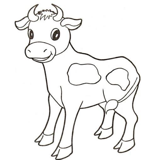 Imagenes De Animales Mamiferos Para Dibujar | dibujos para colorear vacas imprimible gratis para los