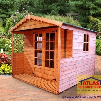 Atlas Sheds by Atlas Sheds Offers An Extensive Range Of High Quality Garden Summer Houses In Liverpool Uk At