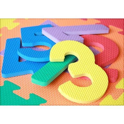 jigsaw play mat kids alphabet numbers letter  soft foam