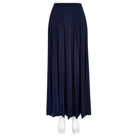 pleated chiffon maxi skirt dress ala navy blue pleated maxi skirt dress ala