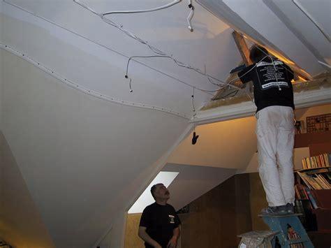 plafond tendu toile ou pvc pour r 233 novation dans l orne 61