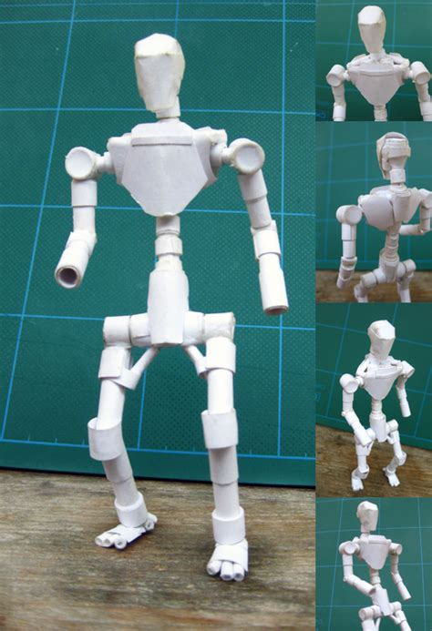 Human Papercraft - human paper by paperbot on deviantart