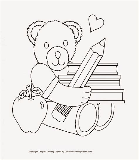First Day Of School Coloring Sheet Free Coloring Sheet Day Of School Coloring Page