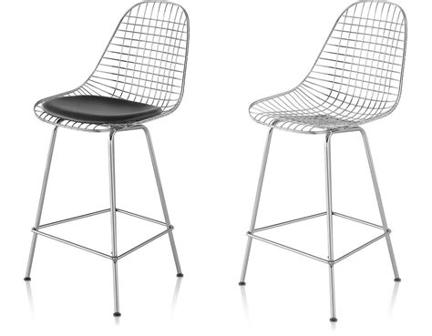 herman miller eames bar stools eames 174 wire stool hivemodern