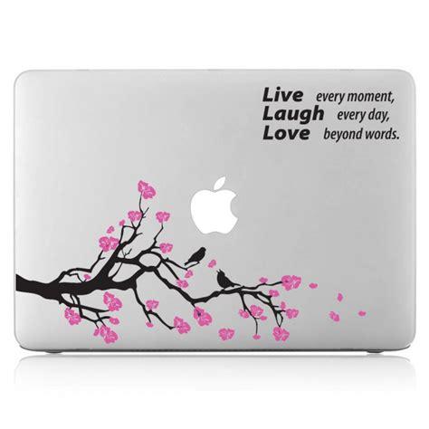 Vinyl Aufkleber Macbook by Flower Laptop Macbook Vinyl Decal Sticker
