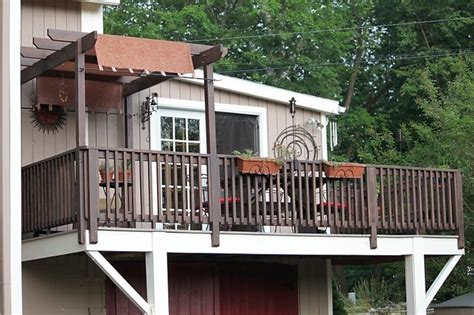 awning ideas for decks partial deck awning idea outdoor oasis ideas pinterest
