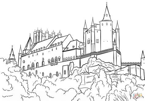 coloring pages of hogwarts castle hogwarts castle coloring page www pixshark com images
