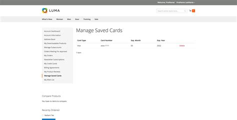 Gift Card Manager - ultimate authorize net cim integration for magento 2