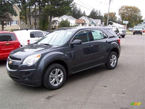 Gray Ls by 2010 Cyber Gray Metallic Chevrolet Equinox Ls Awd