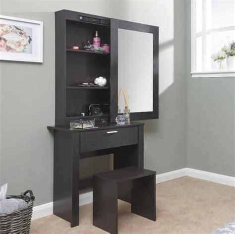 large vanity dressing table large dressing table storage mirror set black bedroom