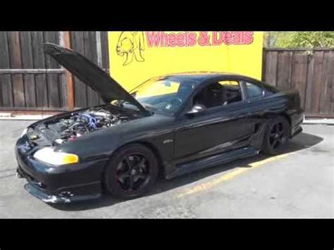 98 mustang supercharger 98 supercharged roush mustang