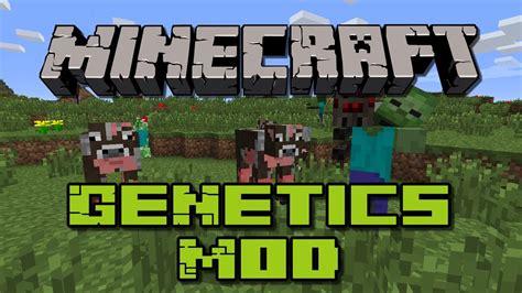 Mod In Minecraft Youtube | minecraft mods genetics mod youtube