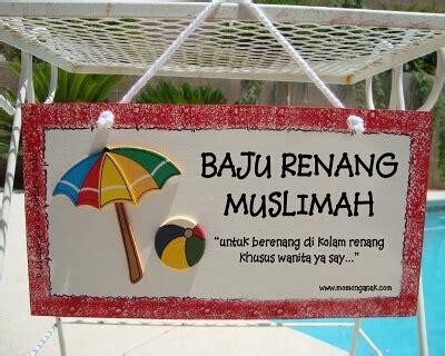 Baju Renang Muslimah Al Ikhsan berenang itu boleh ikhtilat itu dilarang momonganak