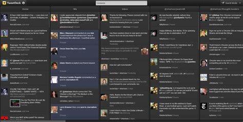 Teet Deck by Organize Your Tweeting By Installing Tweetdeck