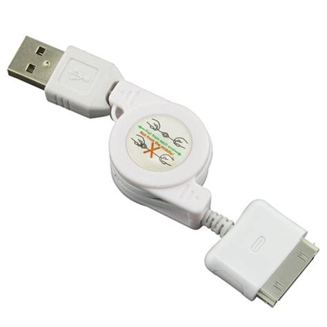 taffware retractable charging sync kabel data iphone 4 4s