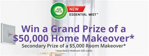 Home Makeover Sweepstakes - airwick home makeover sweepstakes familysavings
