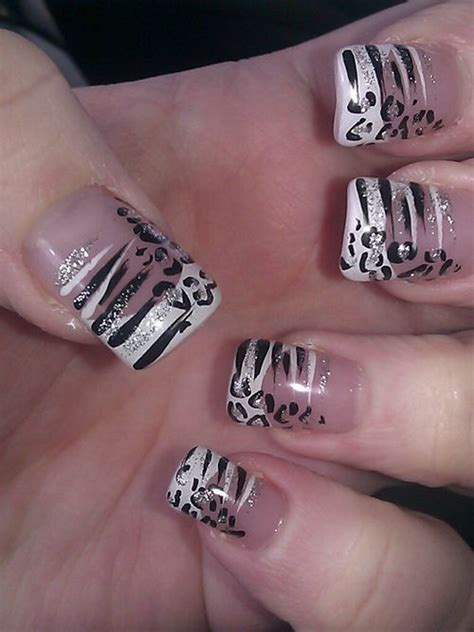 zebra print designs zebra print nail design trend manicure ideas 2017 in pictures