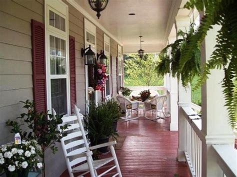 country front porch ideas thehrtechnologist cozy