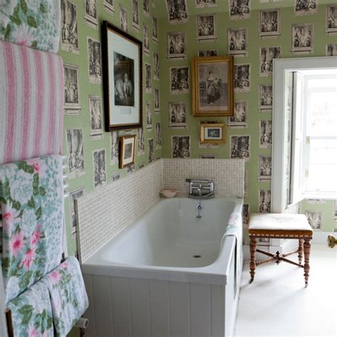 bathroom wallpaper ideas uk bathroom with wallpaper traditional bathroom design ideas housetohome co uk