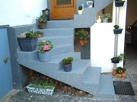 treppengeländer für aussentreppe treppe terrasse design