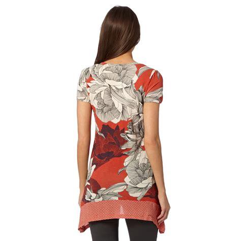 Dotty Top Original rjr rocha womens designer dotty floral