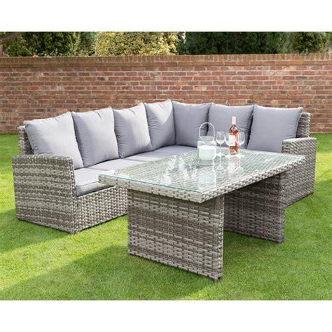 Patio Furniture Sets B M Canterbury Premium Corner Dining Set Garden Furniture B M