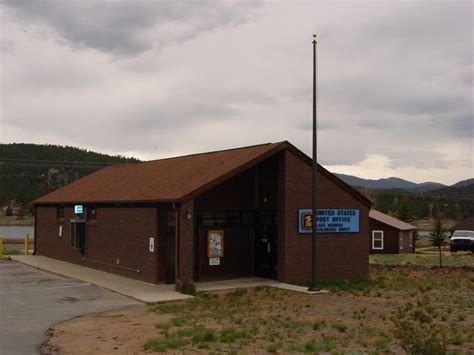 Lake Post Office by Lake George Colorado Post Office Post Office Freak
