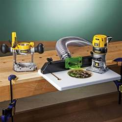dewalt dwp611pk compact router w trim router table and