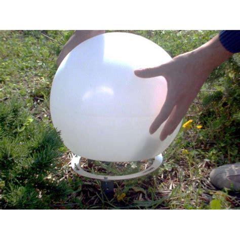 sfere luminose da giardino kit fissaggio sfera luminosa balux