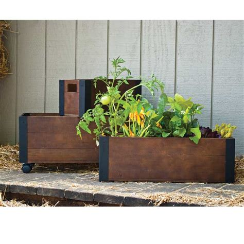 Provence Planters by 3 Provence Wood Planter Bed Set Pride Garden Products