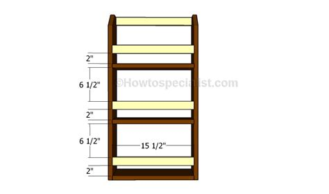 Magazine Rack Plans by Magazine Rack Plans Howtospecialist How To Build Step