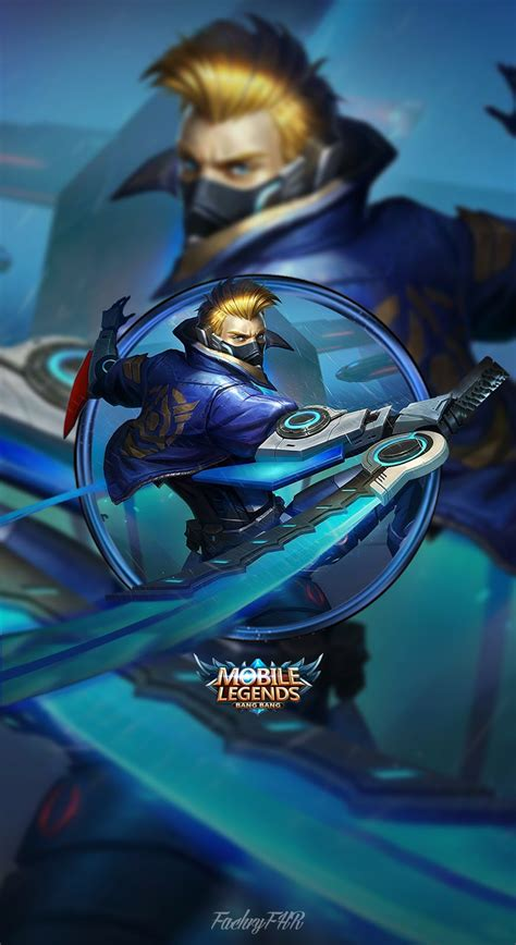 wallpaper mobile legend hayabusa masmochen wallpaper mobile legends hayabusa future