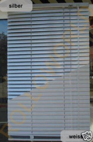 jalousie 240 cm breit rolloworld24 de standard aluminium alu jalousie