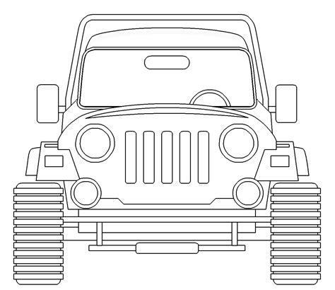 cute jeep drawing army tank coloring pages to print eliolera com teraflex