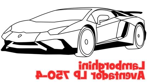 How To Draw A Easy Lamborghini How To Draw A Lamborghini Drawing Brown Hairs