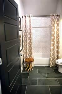 black slate bathroom floor 33 black slate bathroom floor tiles ideas and pictures