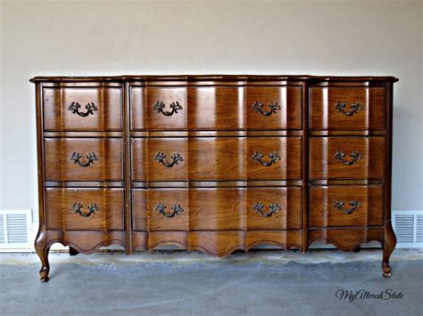 Hometalk   Refinished French Provincial   High Gloss