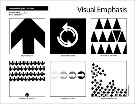 design elements emphasis 24 best vc1 principles of design images on pinterest
